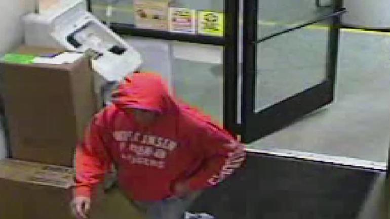 Разыскивается подозреваемый в ограблении мобильной газозаправочной станции в Меквоне