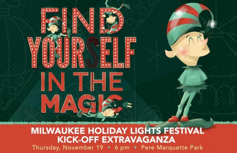 19 ноября стартует Фестиваль праздничных огней в Милуоки