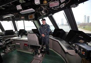 Новое скоростное судно у ВМС США в Милуоки