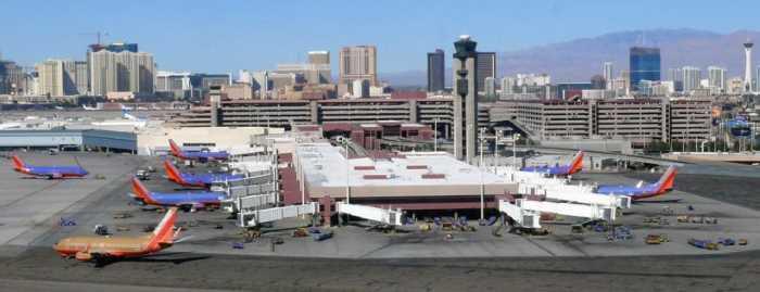 Аэропорт Лас-Вегас