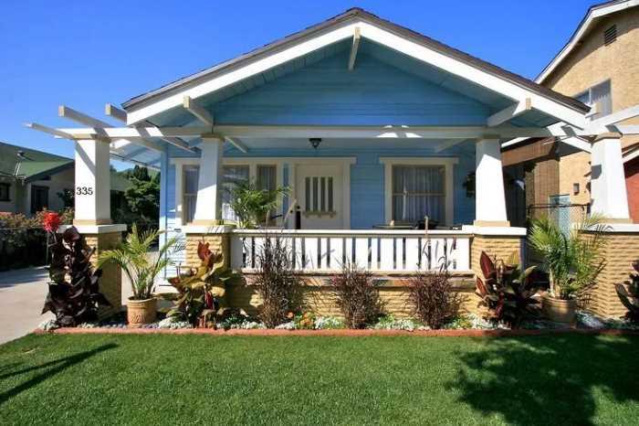 Arhitekturnyj stil bungalo - Стили архитектуры США