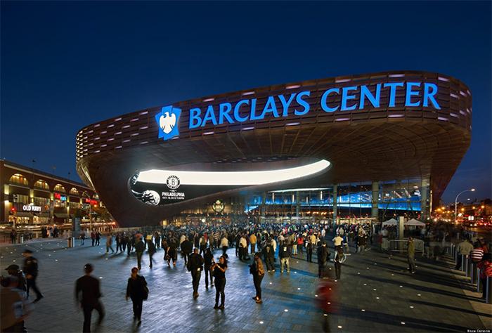 Спортивная арена Barclays Center