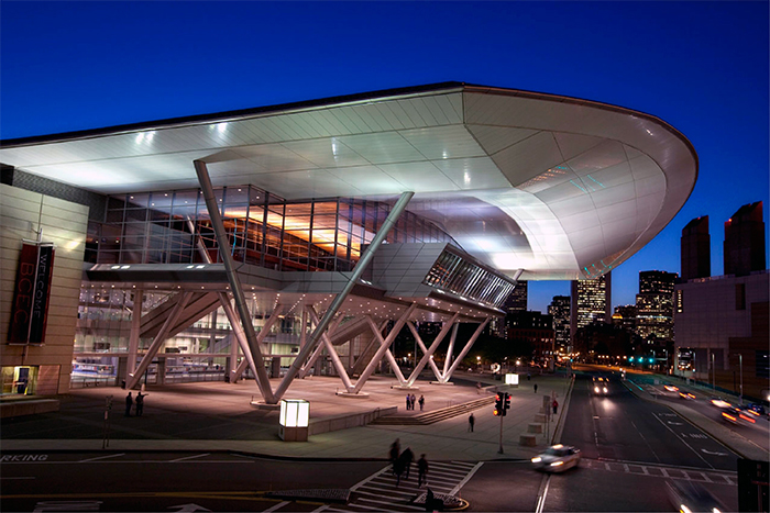 Boston Convention and Exhibition - Стили архитектуры США