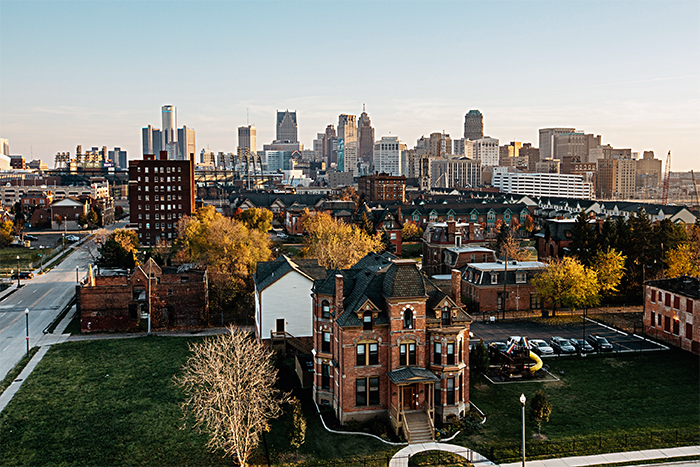 Detroit1 1 - Стили архитектуры США