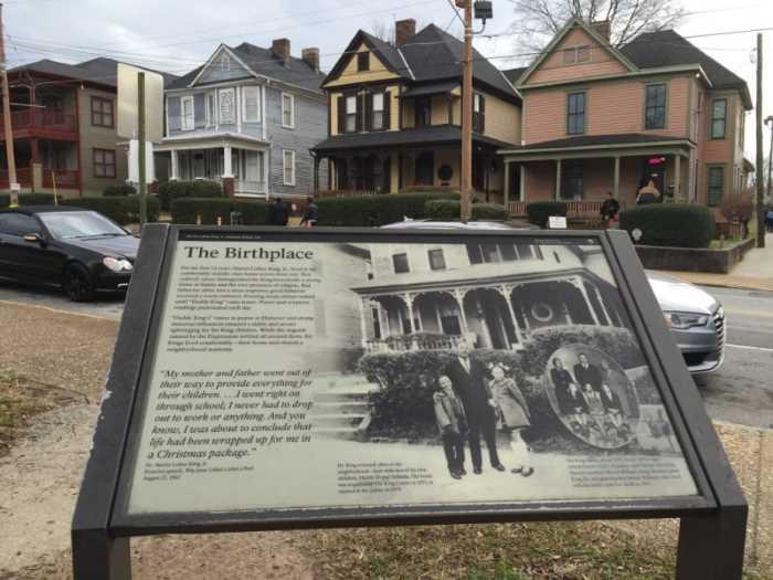 Dom muzej Rodina Martina Lyutera Kinga  - Город Атланта, Джорджия, США