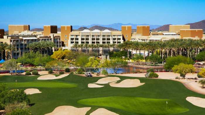 Finiks park Mini Golf Paradise - Финикс (Аризона) - популярный город в США