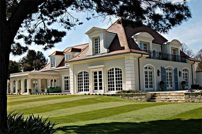 Frantsuzskij stil - Стили архитектуры США
