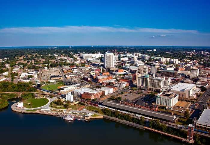 Gorod Montgomeri - Штаты США. Штат Алабама