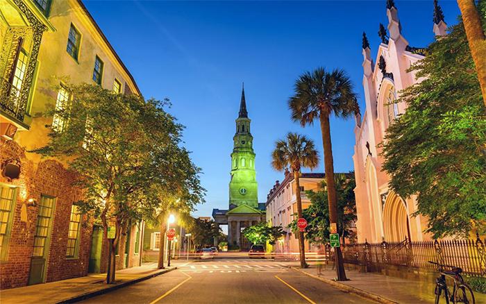 Historic Charleston - Стили архитектуры США