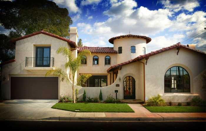 Ispanskij stil - Стили архитектуры США