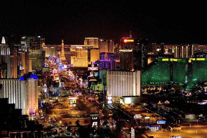 Las Vegas - Голливудская «Аллея славы»
