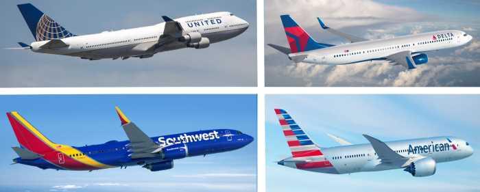 "Luchshih aviakompanii SSHA - Американские авиакомпании - авиакомпания ""American airlines"""
