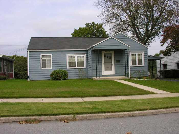 Minimal Traditional house - Стили архитектуры США