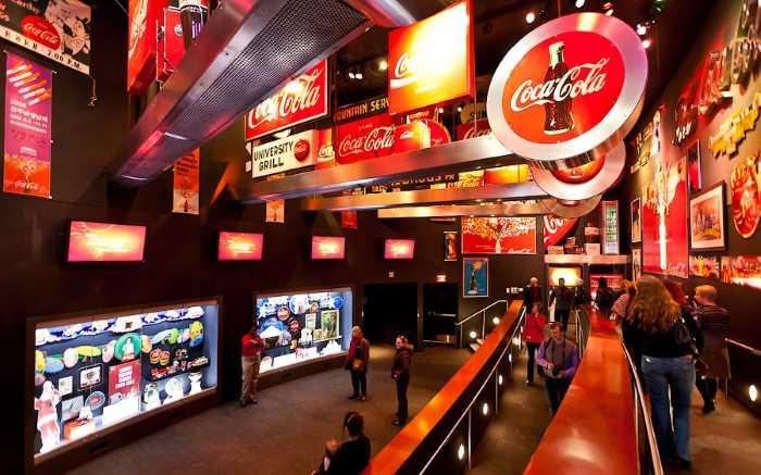 Muzej Coca Cola v Atlante - Город Атланта, Джорджия, США
