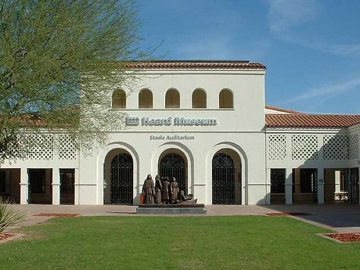 Muzej Heard - Финикс (Аризона) - популярный город в США