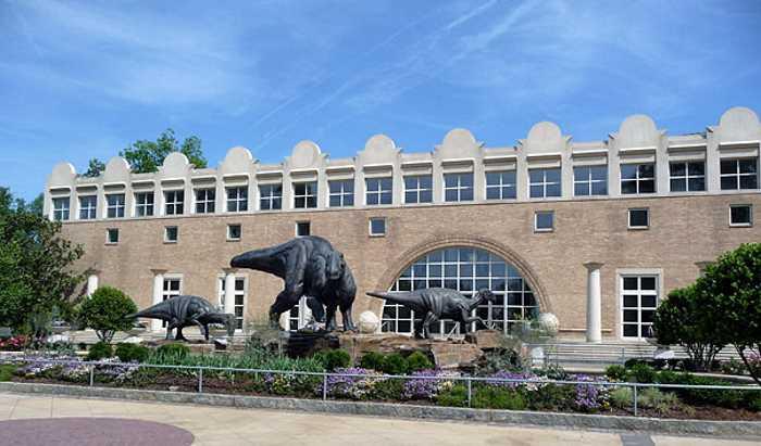 Muzej estestvoznaniya v Atlante - Город Атланта, Джорджия, США