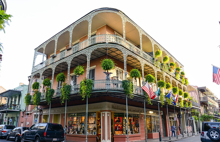 New Orleans - Стили архитектуры США