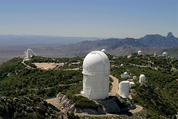 Observatoriya Kitt Pik - Тусон, Аризона - город в пустыне