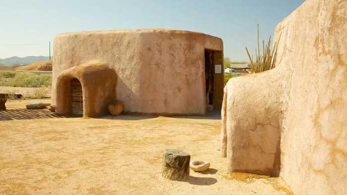Park Pueblo Grande - Финикс (Аризона) - популярный город в США