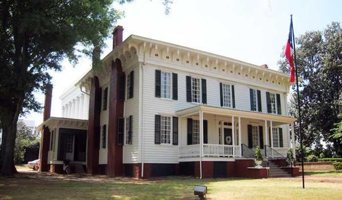 Pervyj Belyj dom konfederatsii - Штаты США. Штат Алабама