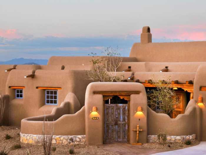 Pueblo - Стили архитектуры США
