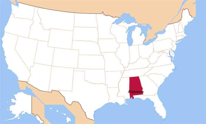 SHtaty SSHA. SHtat Alabama - Штаты США. Штат Алабама