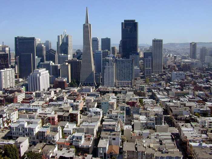 San Frantsisko - Стили архитектуры США