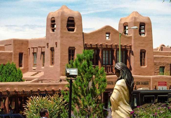 Santa Fe - Стили архитектуры США
