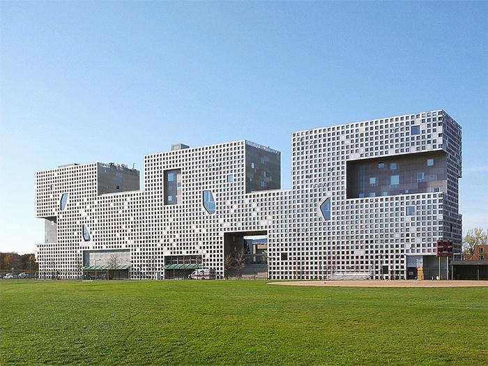 Simmons Holl  - Стили архитектуры США