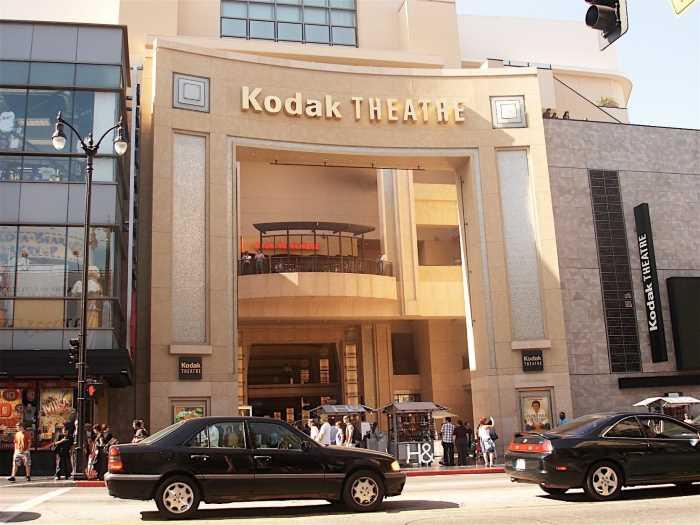 Teatr Kodak  - Голливудская «Аллея славы»