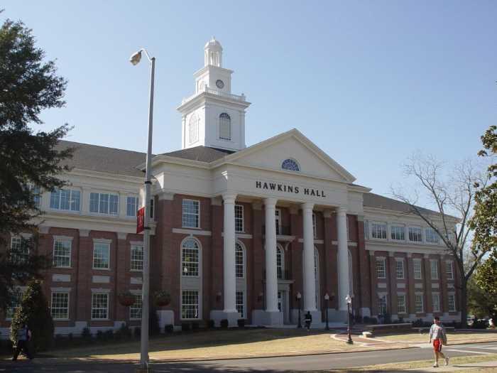 Troy State University Montgomery - Штаты США. Штат Алабама