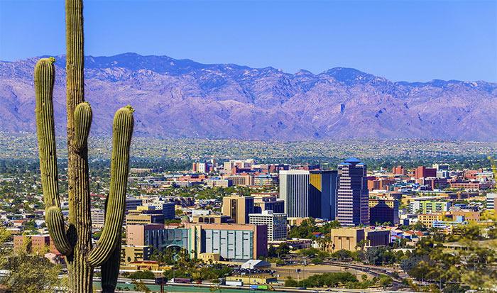 Tuson - Тусон, Аризона - город в пустыне