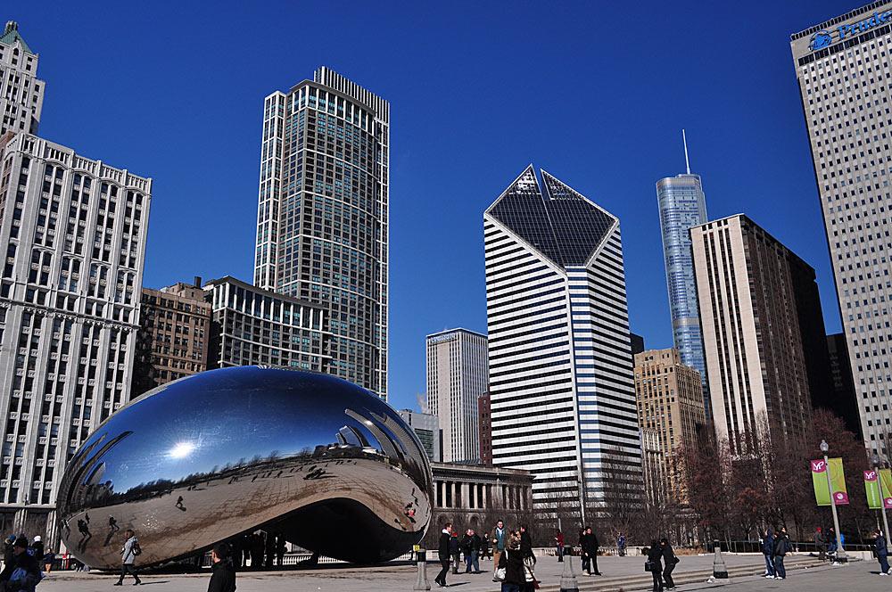 chicago - Стили архитектуры США