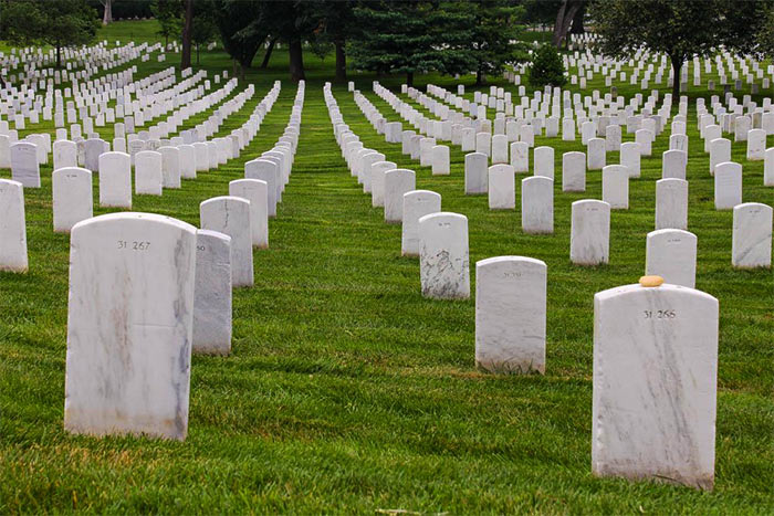 Arlingtonskoe natsionalnoe kladbishhe - Арлингтонское национальное кладбище, США