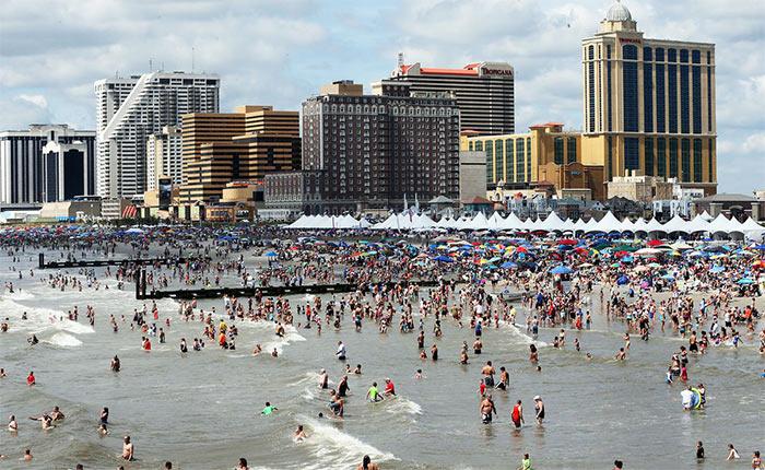 Atlantik Siti - Атлантик-Сити, США - популярный курорт