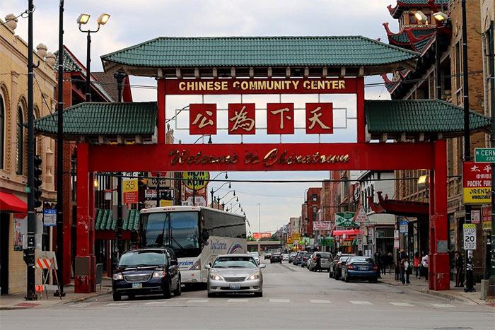 CHajnataun CHikago - Чикаго – второй экономический центр США