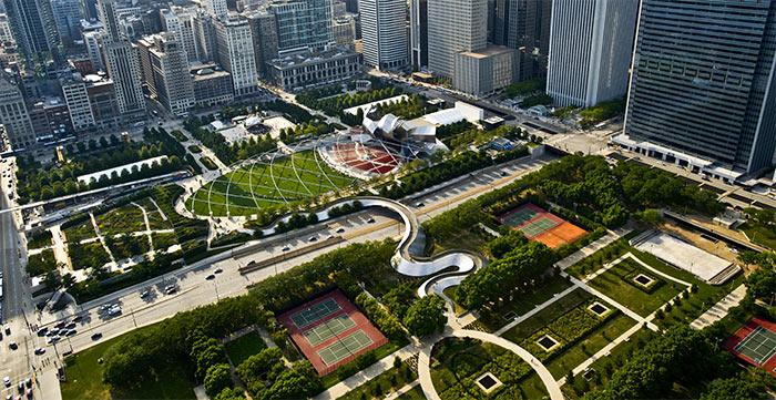 Millenium Park - Чикаго – второй экономический центр США