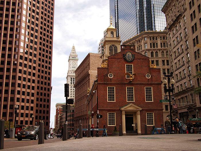 Staryj Kapitolij - Бостон – столица штата Массачусетс
