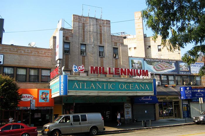 Teatr Millenium - Русский район в Нью-Йорке. Брайтон-Бич
