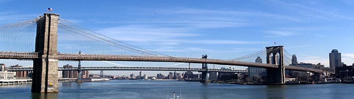 Bruklinskij most v tsifrah - Бруклинский мост - символ Нью-Йорка