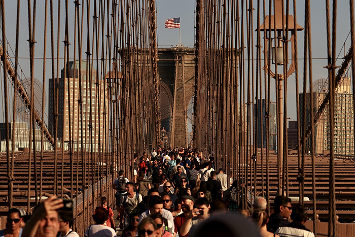 Bruklinskij most zagadki i tajny - Бруклинский мост - символ Нью-Йорка