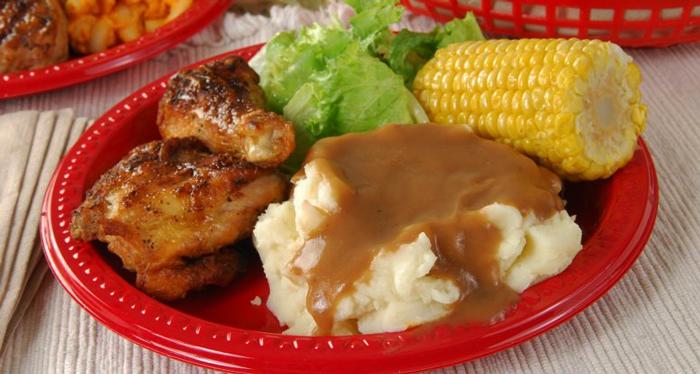 CHem obedayut v Amerike - Еда и питание в США