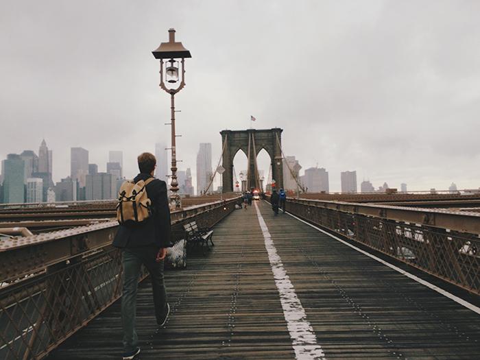 Dalnejshaya zhizn mosta - Бруклинский мост - символ Нью-Йорка