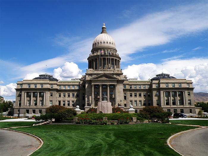 Kapitoliya - История возникновения и расположение Бойсе, штат Айдахо