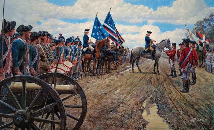 Война за независимость в США
