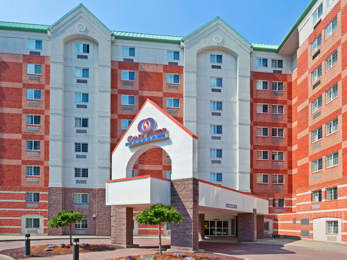 Candlewood Suites Jersey City - Джерси-Сити, Нью-Джерси, США