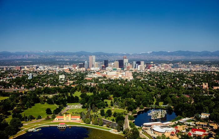 Denver shtat Kolorado - Города США: Денвер (штат Колорадо)