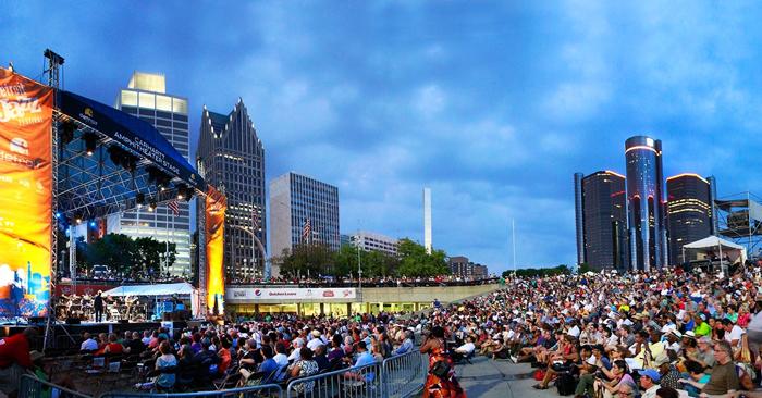 Фестиваль в Детройте