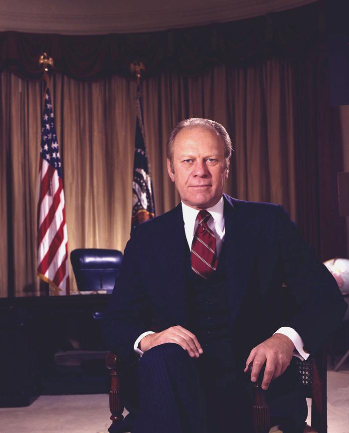 Prezident Dzherald Ford - Президент США - Джеральд Форд