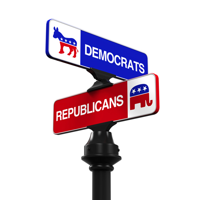 Различия между демократами и республиканцами